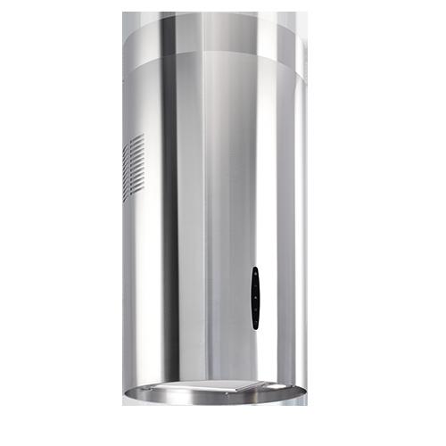 Cappa cilindrica in acciaio inox - 40 cm - CISB 40I - Beltratto ...